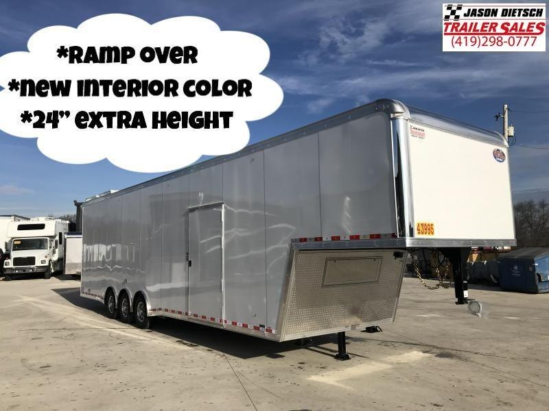 2020 United Trailers 8.5X40 RAMP OVER Car / Racing Trailer....STOCK# UN-169384