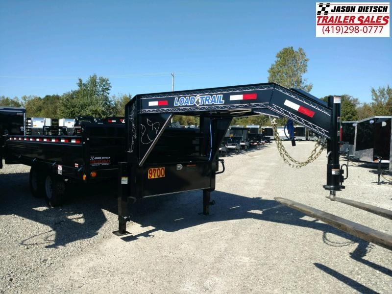 2019 Load Trail 96X16 Tandem Axle GOOSENECK Dump Trailer....STOCK# LT-0916
