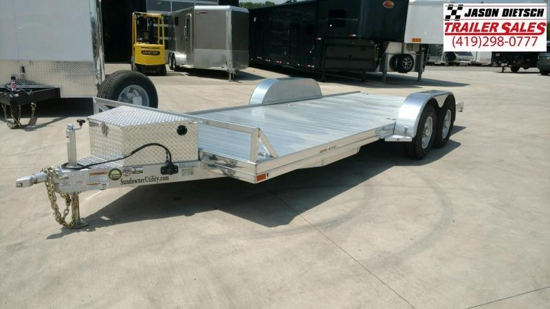 2020 sundowner Trailers 6.9X20 Equipment Trailer....STOCK# SD-FA8014
