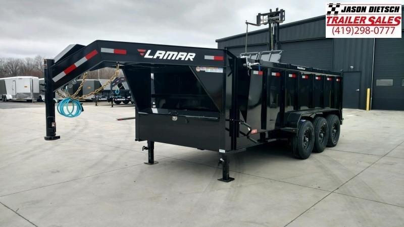 2020 Lamar 83X16 Gooseneck Dump Trailer