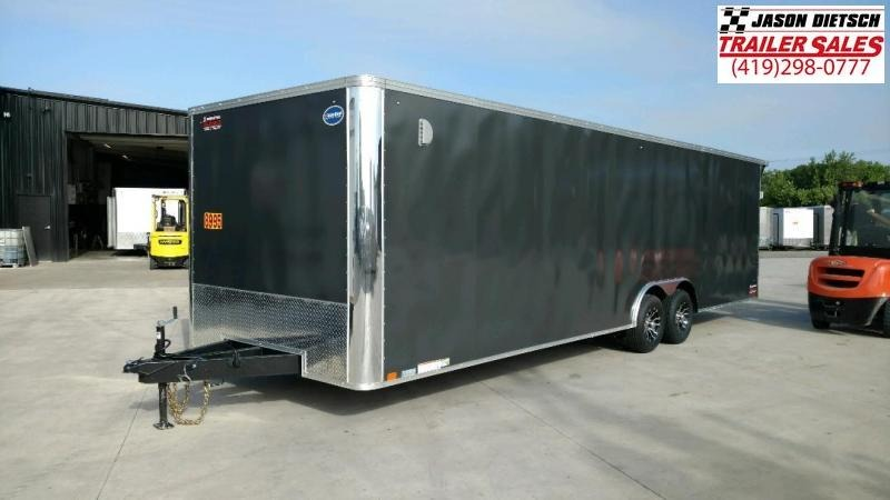 2020 United XLT 8.5X28 Enclosed Car/Race Trailer
