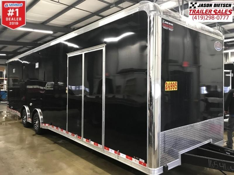 "2019 United 8.5X32 Car/Race Trailer 12"" Extra Height"