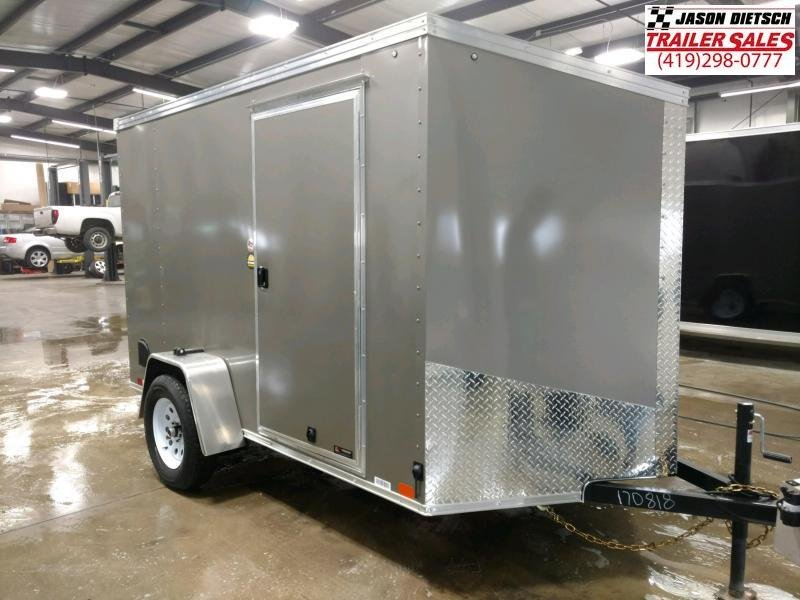 2020 United XLV 6X10 V-Nose Slant Enclosed Cargo Tr....Stock# UN-170818
