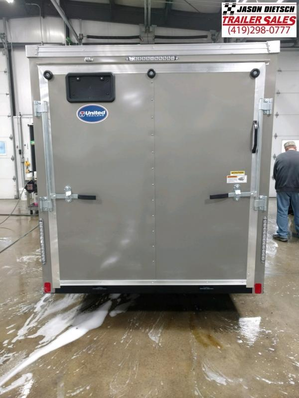 2020 United XLV 6X10 V-Nose Slant Enclosed Cargo Tr....Stock# UN-170818