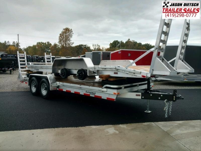 2020 Legend 7x20 *All Aluminum* Equipment/Car Trailer