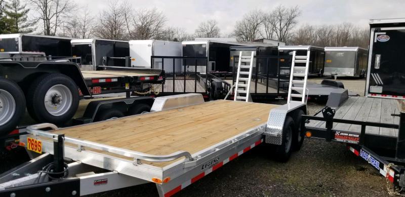 2020 Legend 7x20 *All Aluminum* Equipment/Car Trailer