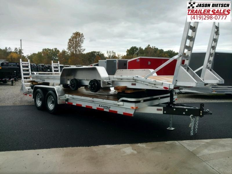 2020 Legend 7x20 All Aluminum Tandem Axle ....Stock#LG-317154