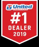 2020 United XLV 6X12 Slant/VNose Cargo Trailer