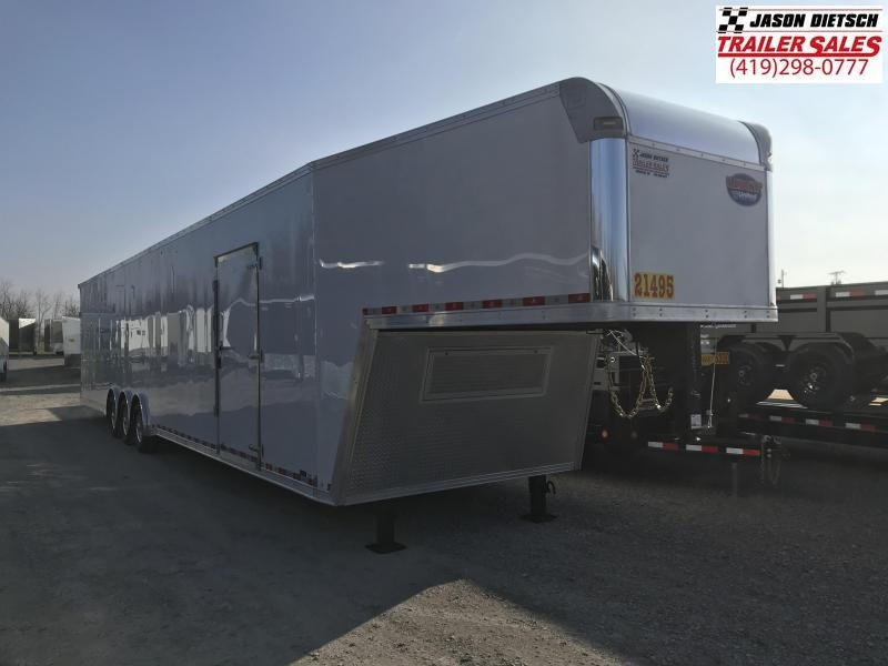 """2020 United 8.5X48 Wide Body Car/Race Trailer 12"""" Extra Height"""