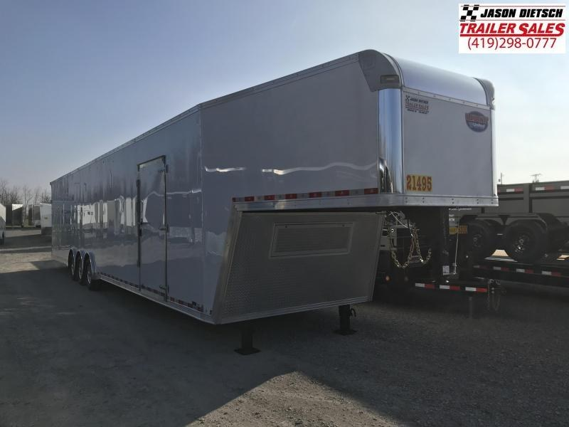 2020 United UXGH 8.5X48 Wide Body Gooseneck Triple Axle Flat Top....Stock# UN-166899