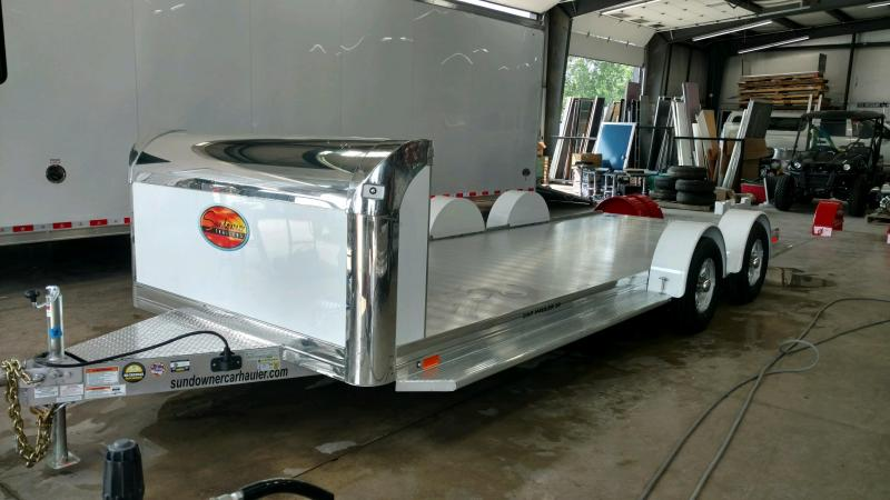 2020 Sundowner 6.9X19 Sunlite OPEN Car Trailer.... STOCK# SD-FA8004