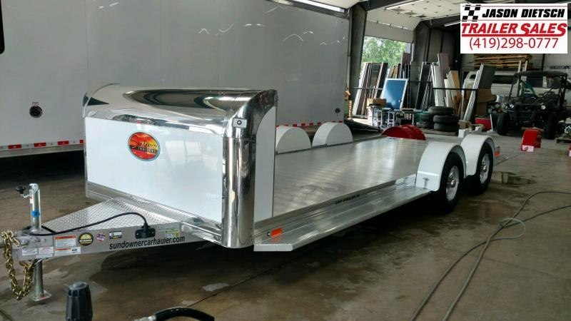 2020 Sundowner Sunlite 6.9X19 Open Car Hauler Trailer