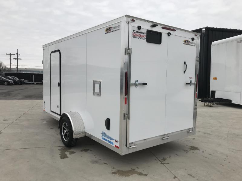 2019 Legend Thunder 7X19 Snowmobile/ATV Trailer