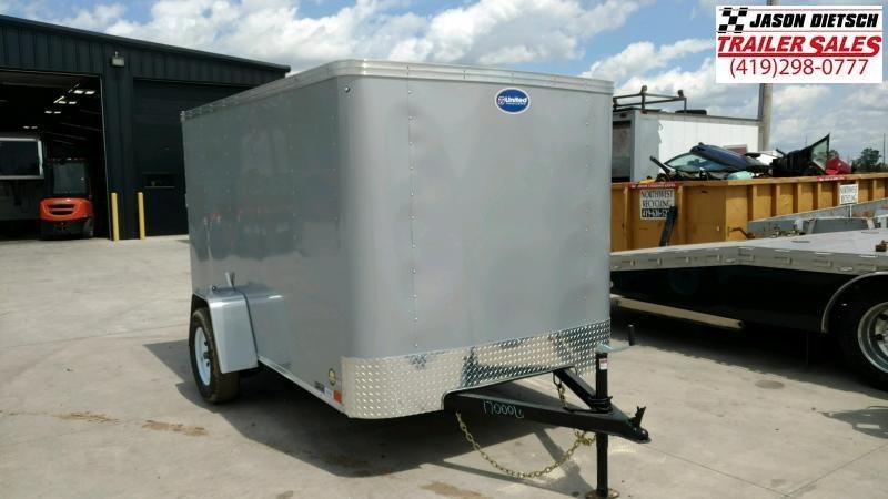 2020 United XLE 6X10 Enclosed Cargo TRAILER....Stock# UN-170635