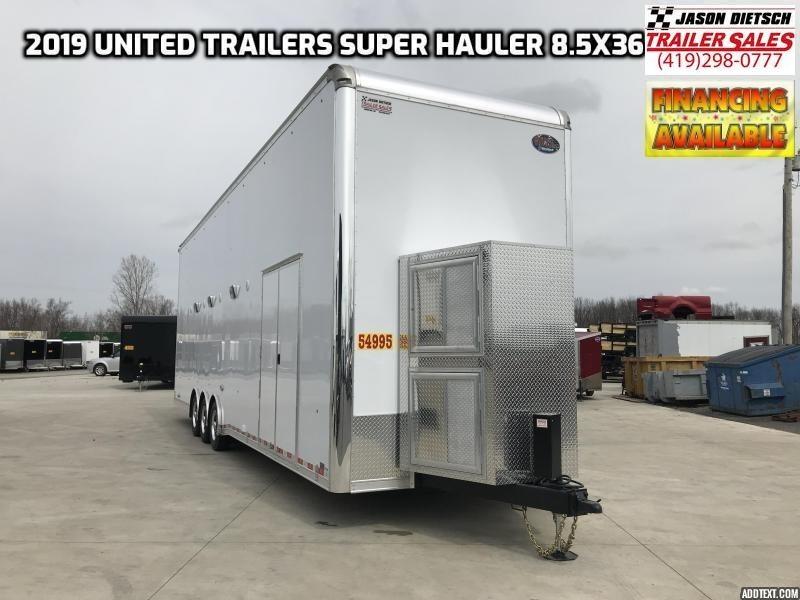 2019 United Trailers USH 8.5x36 Stacker....STOCK# UN-166807