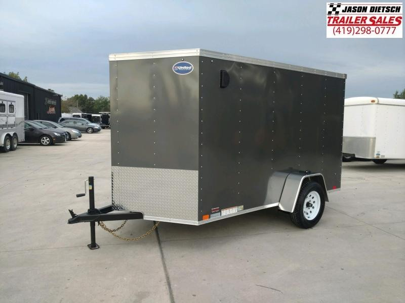 2020 United XLV 6X10 V-Nose Slant Enclosed Cargo Tr....Stock# UN-170682