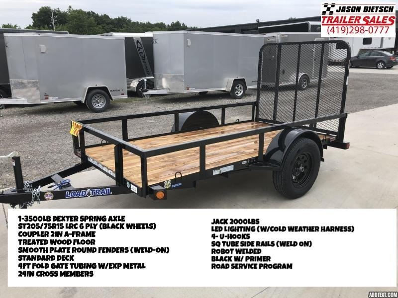 2018 Load Trail 60x10 Single Axle Utility Trailer...# 166798