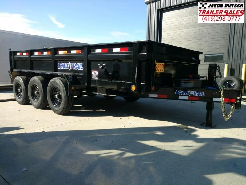 2020 Load Trail DT 83x16 Triple Axle Dump Trailer....Stock#LT-195647