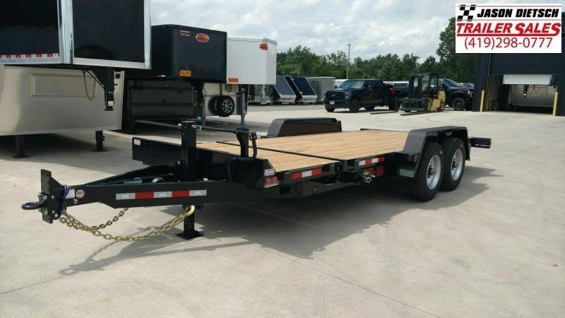 2020 Behnke 20K 83X20 Tilt Equipment Trailer