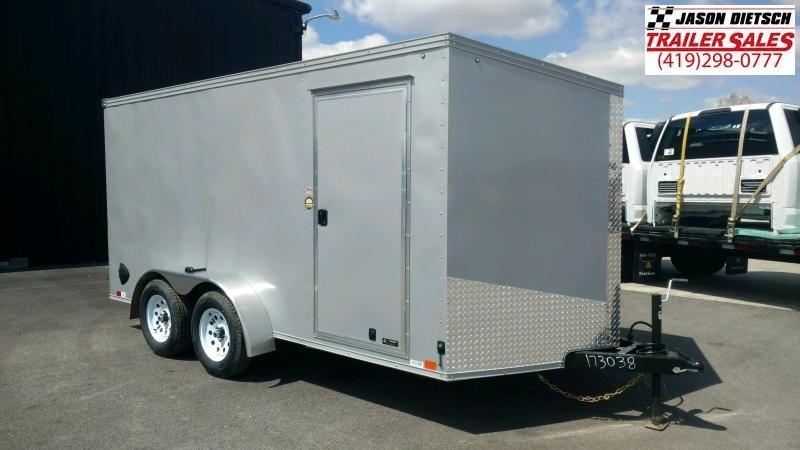 2020 United Trailers XLV 7x14 V-Nose Enclosed Cargo Trailer....Stock# UN-173038