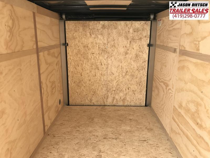 2020 United XLV 6X12 V-Nose Slant Enclosed Cargo Trailer....Stock# UN-170462