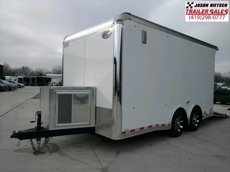 "2018 United USH 8.5X16 Cargo Trailer 12"" Extra Height"