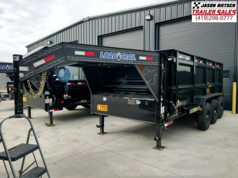 2020 Load Trail 83X16 Triple Axle Gooseneck  Dump Trailer....STOCK# LT-194707