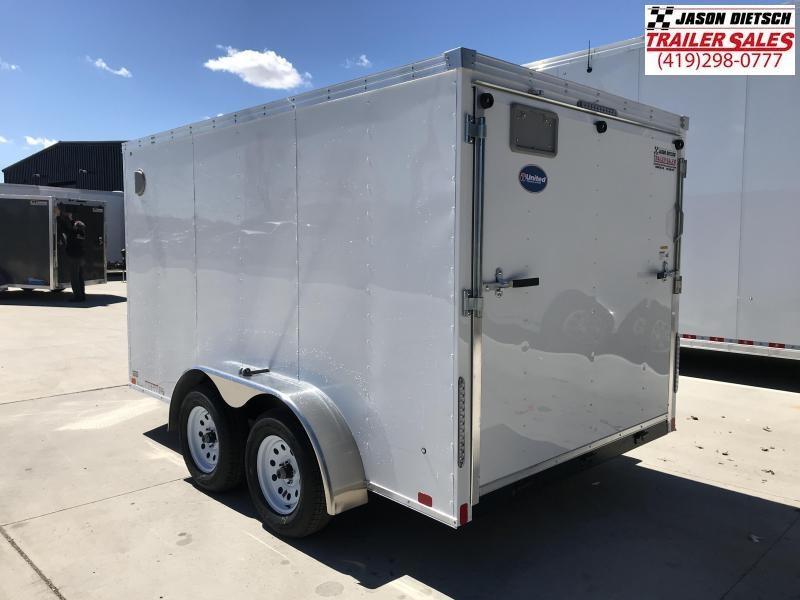 2020 United Trailers XLV 7x12 V-Nose Enclosed Cargo Trailer....Stock# UN-168016