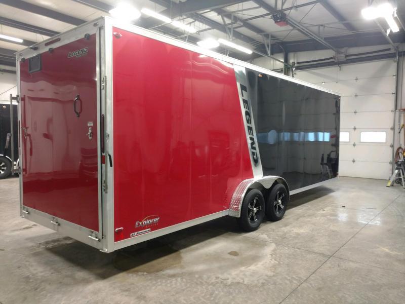 2020 Legend Explorer 7.5X29 Snowmobile/ATV Trailer Extra Height