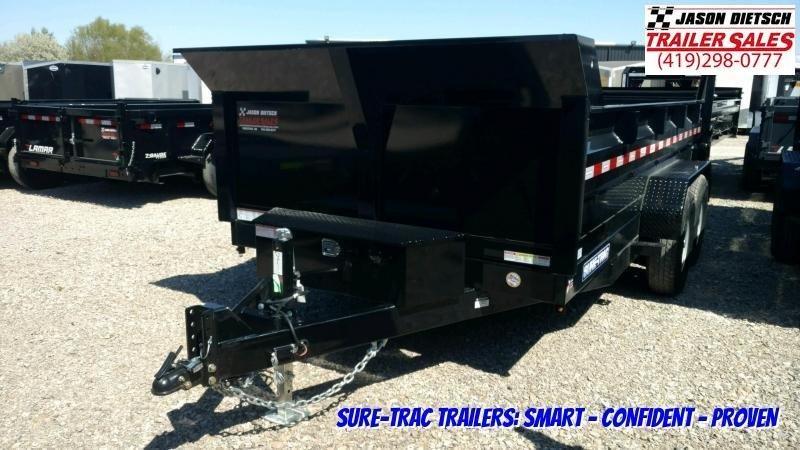 2020 Sure-Trac 82 IN X 14 LP 14K Dual Ram Dump