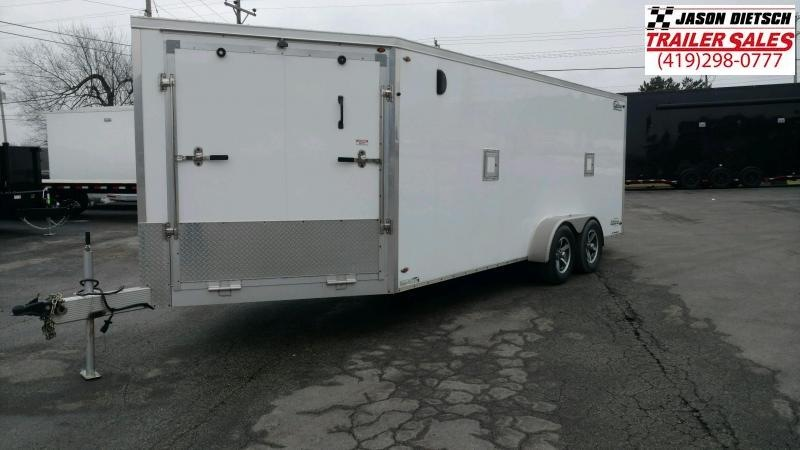 2016 7X23 SNOWMOBILE TRAILER