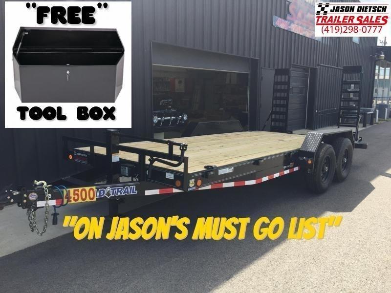 2019 Load Trail 83x18  Car/Equipment Trailer