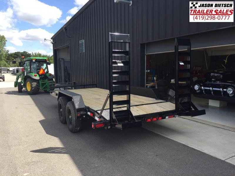 2019 Load Trail 83x18  Open Equipment/Car Trailer