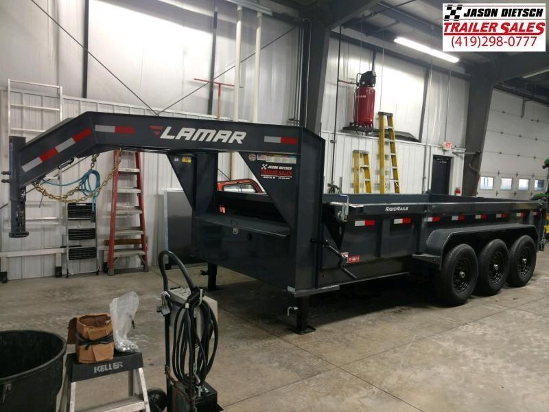 2020 Lamar Trailers 83X16 Dump Trailer...# LM-085117