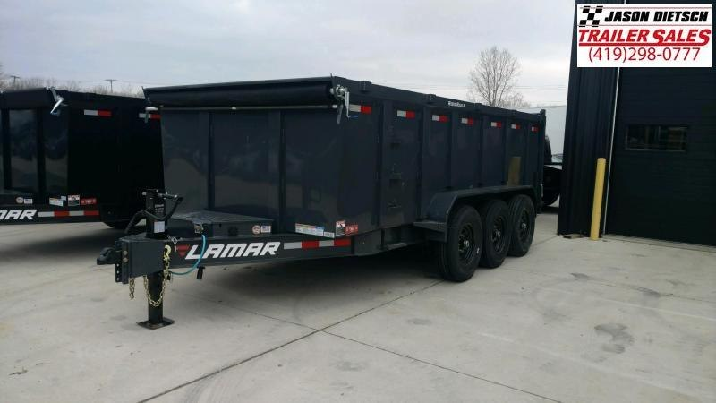 2020 Lamar 83X16 LOW PRO Dump Trailer 21K...STOCK NUMBER 088495