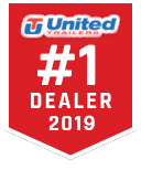 2019 United XLE 4X6 Cargo Trailer