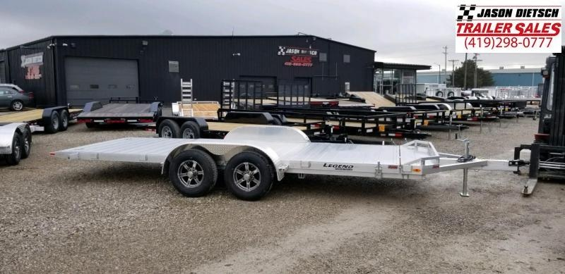 2020 Legend 7x20 All Aluminum TILT Tandem Axle ....Stock#LG-317770