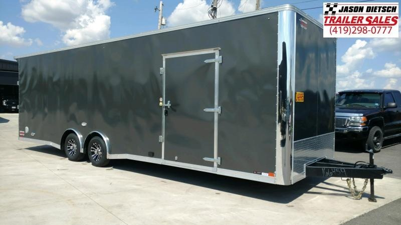 "2020 United XLT 8.5X28 Car/Race Trailer 12"" Extra Height"