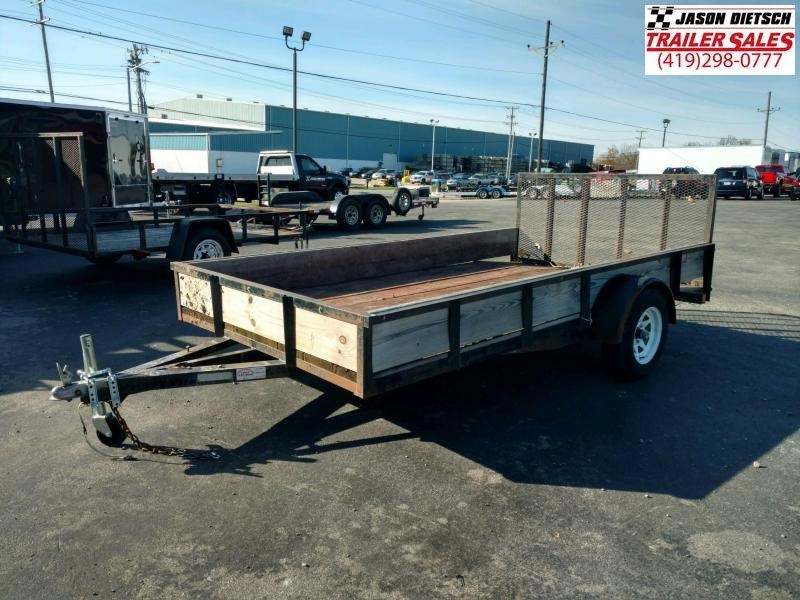 2012 FOREST RIVER  6.5X12 Utility Trailer...# 1427ind