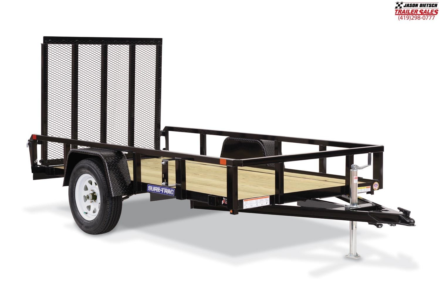 2020 Sure-Trac 3K 7X12 Tube Top UtilityTrailer