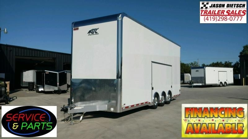 2020 ATC All Aluminum 8.5X28 Stacker