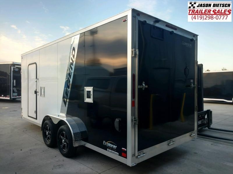 2020 Legend 7.5X23 Explorer Snowmobile/ATV Trailer