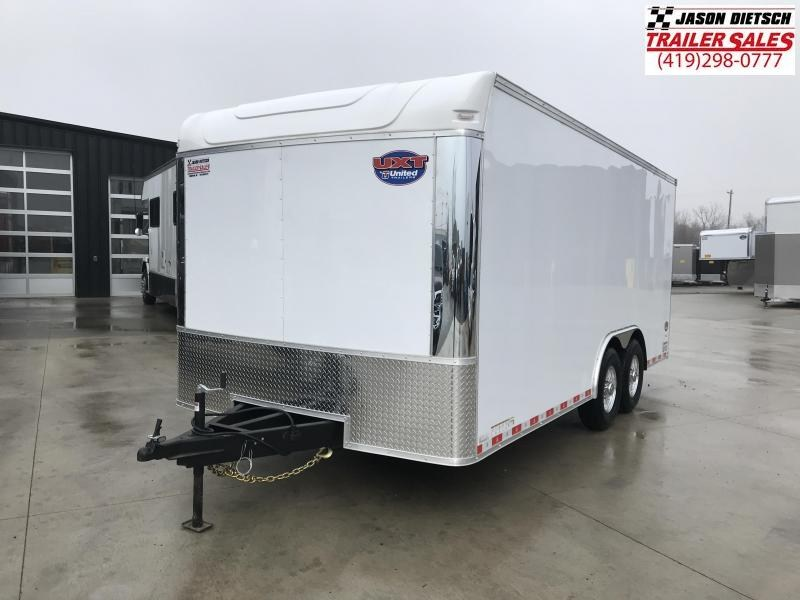 2020 United Trailer UXT 8.5X18 Enclosed Cargo Trailer....Stock# UN-170327