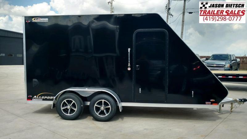 2020 Legend 7X17 ATV Trailer Extra Height