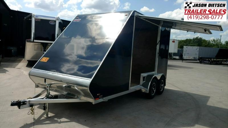 2020 Legend Manufacturing 7X17 ATV Trailer