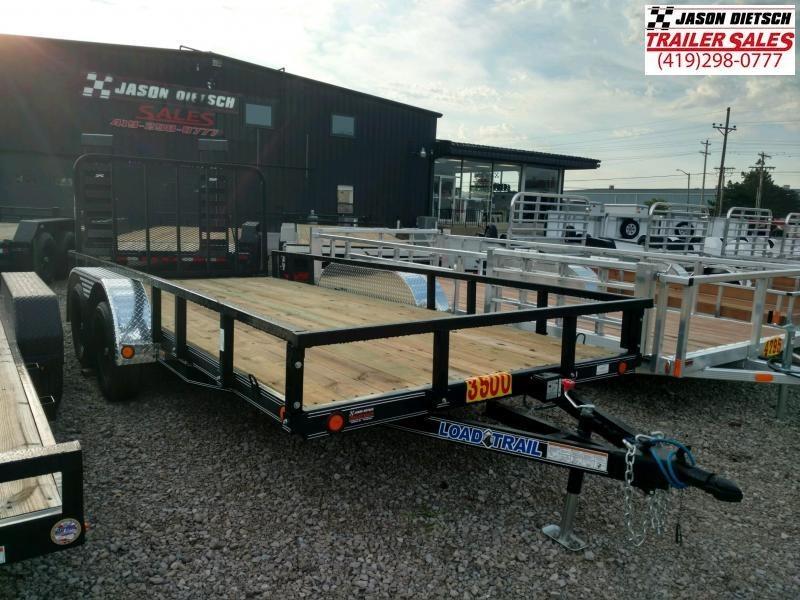2019 Load Trail 83x16 Equipment Trailer