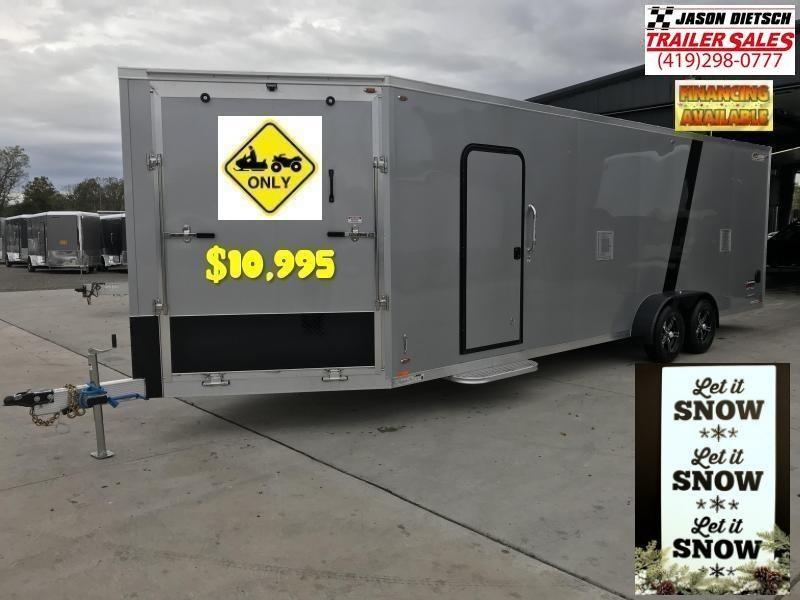 2019 Legend 7X29 EXPLORER EXTRA HEIGHT Snowmobile/ATV Trailer...# 317339