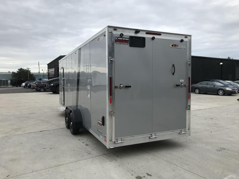 "2019 Legend Explorer 7X29  Snowmobile Trailer 6"" Extra Height"
