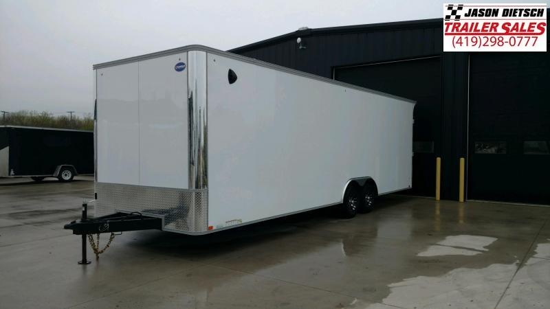 2021 United XLT 8.5X28 Enclosed Car/Race Trailer Xtra Height  #166500