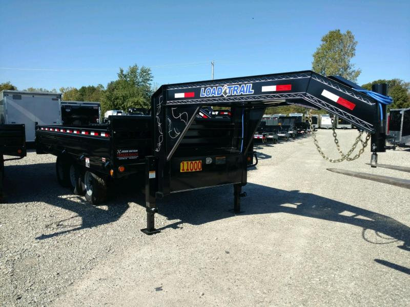"2019 Load Trail 96"" X 16' Triple Axle Gooseneck Deck Over Dump  Trailer"